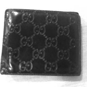 Men's Gucci Bi fold wallet